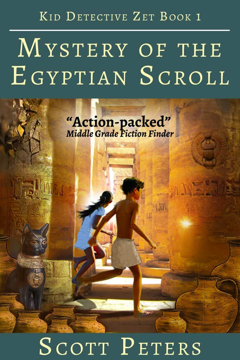 Cover for Mystery of the Egyptian Scroll