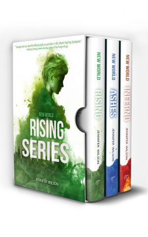 Cover for New World Series Box Set: Rising - Ashes - Inferno