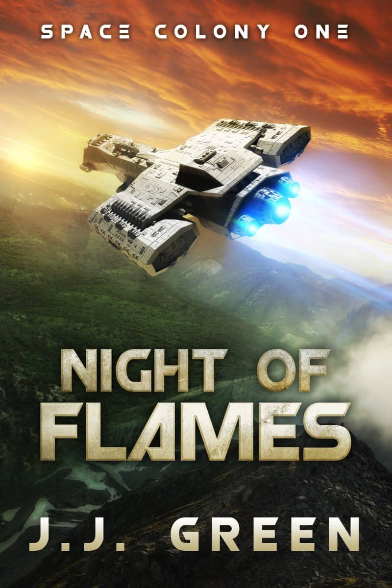Cover for Night of Flames