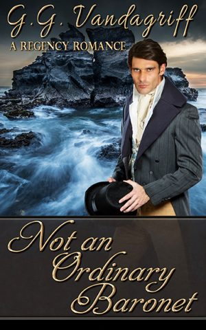 Cover for Not an Ordinary Baronet
