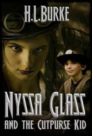 Cover for Nyssa Glass and the Cutpurse Kid