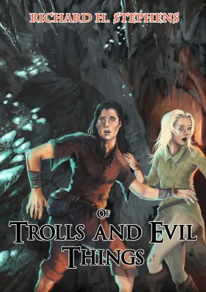 Cover for Of Trolls and Evil Things