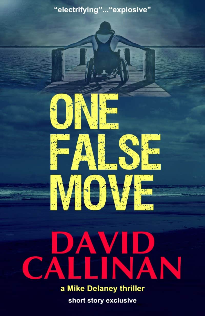 Cover for One False Move
