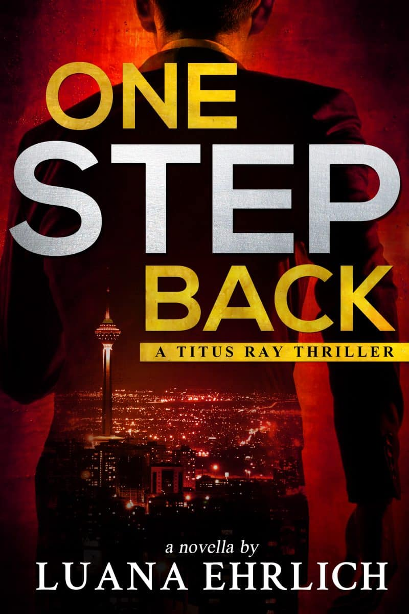 Cover for One Step Back