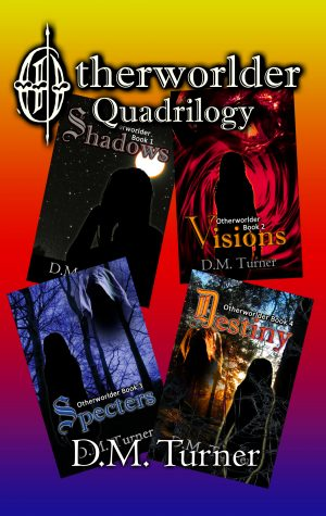 Cover for Otherworlder Quadrilogy