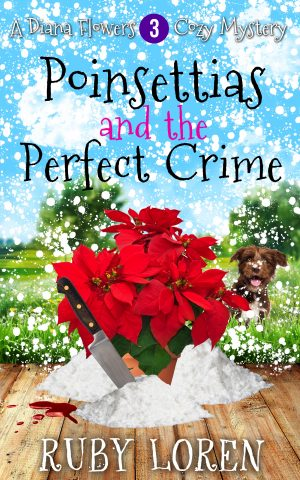 Cover for Poinsettias and the Perfect Crime