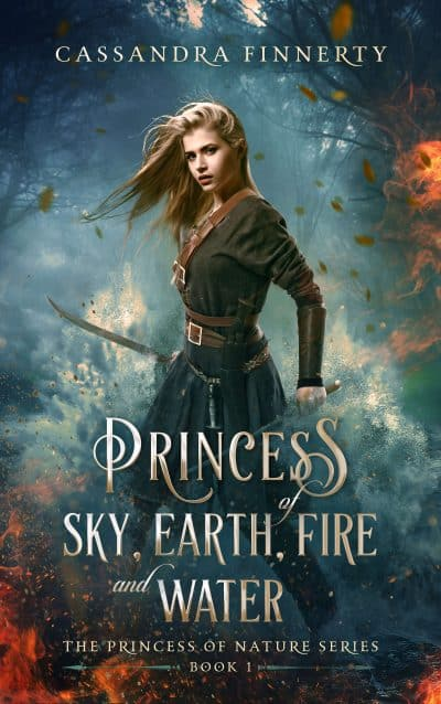 Cover for Princess of Sky, Earth, Fire and Water