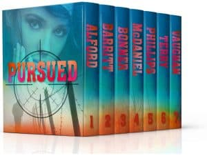 Cover for Pursued