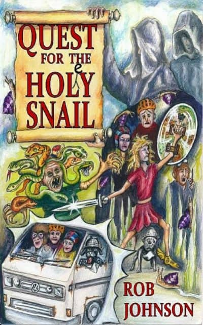 Cook Book Cover Quest : Quest for the holey snail book cave