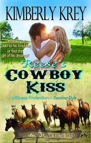 Cover for Reese's Cowboy Kiss