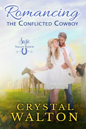 Cover for Romancing the Conflicted Cowboy