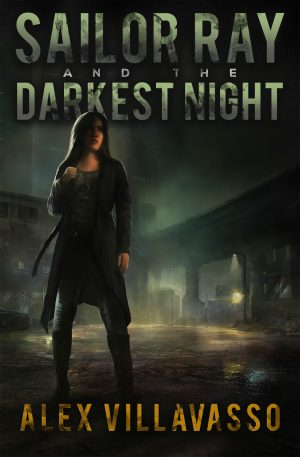 Cover for Sailor Ray and the Darkest Night
