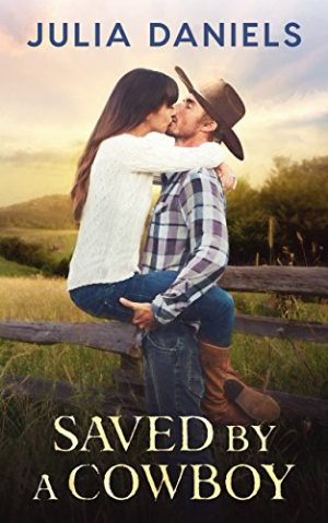 Cover for Saved by a Cowboy