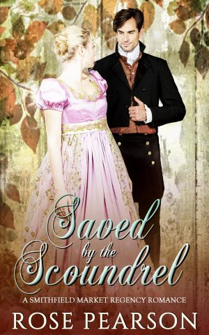 Cover for Saved by the Scoundrel