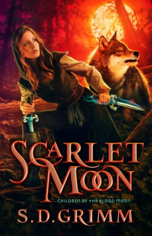 Cover for Scarlet Moon
