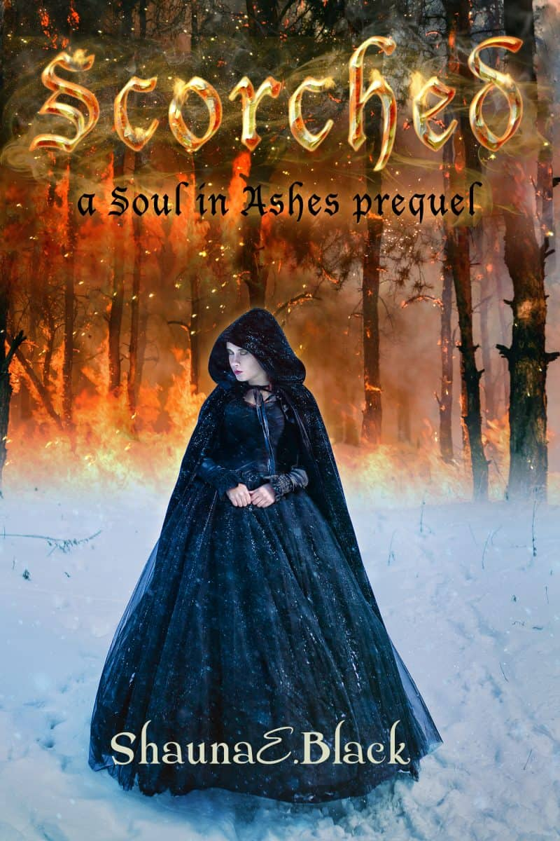 Cover for Scorched: A Soul in Ashes Prequel