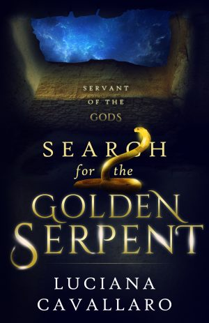 Cover for Search for the Golden Serpent