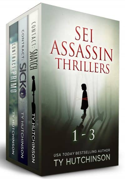 Cover for Sei Thrillers