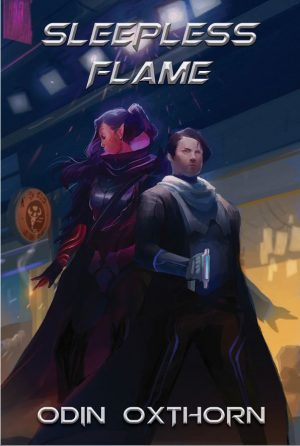 Cover for Sleepless Flame