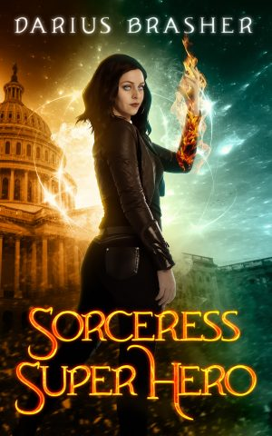 Cover for Sorceress Super Hero
