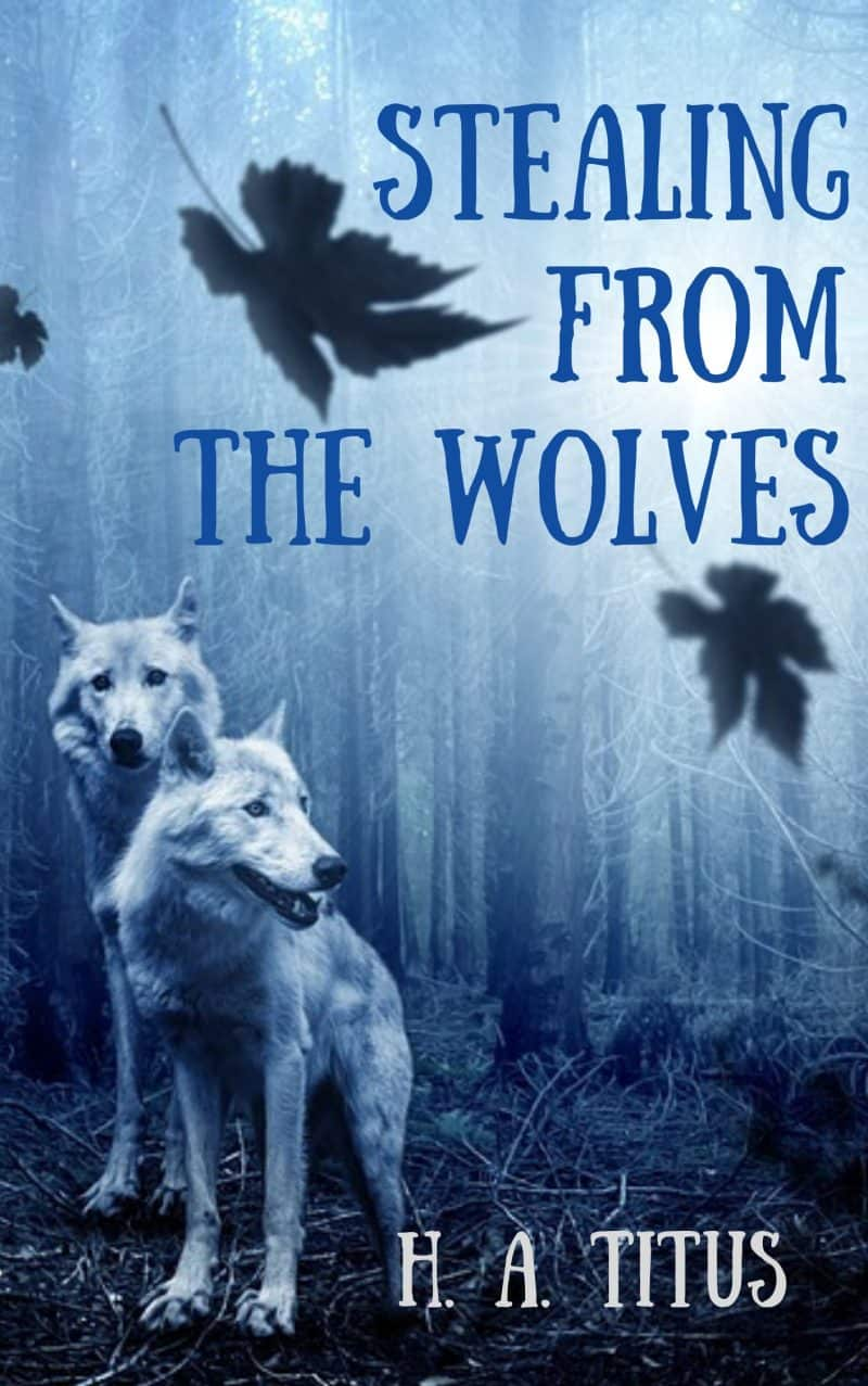 Cover for Stealing From the Wolves