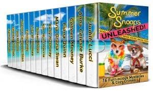 Cover for Summer Snoops Unleashed: 14 Furr-ocious Mysteries and Cozy Crimes