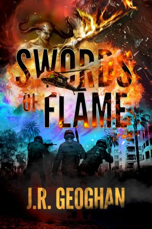 Cover for Swords of Flame