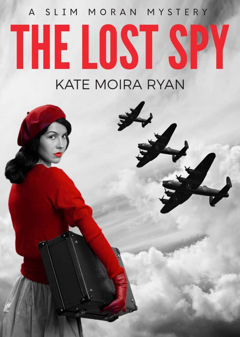 Cover for THE LOST SPY: A Slim Moran Mystery