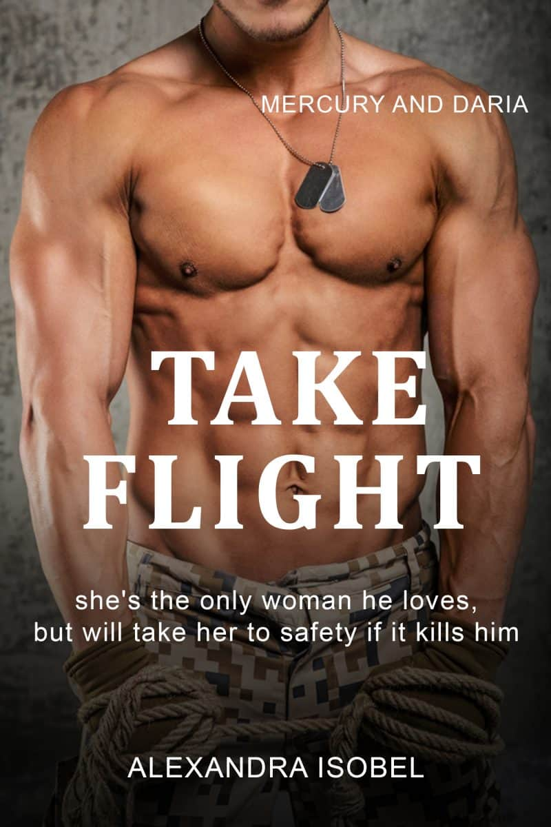 Cover for Take Flight: She's the only woman he loves, but has to let her go.