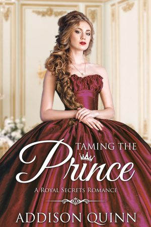 Cover for Taming the Prince