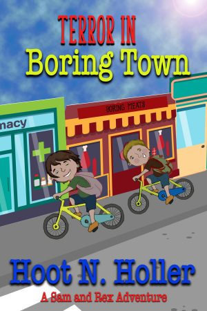Cover for Terror in Boring Town