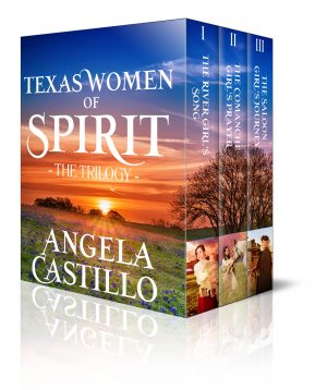 Cover for Texas Women of Spirit Trilogy