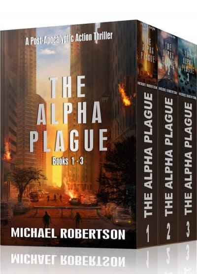 Cover for The Alpha Plague - Books 1-3