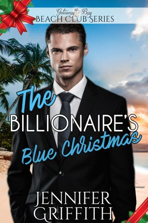 Cover for The Billionaire's Blue Christmas