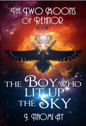 Cover for The Boy who Lit up the Sky