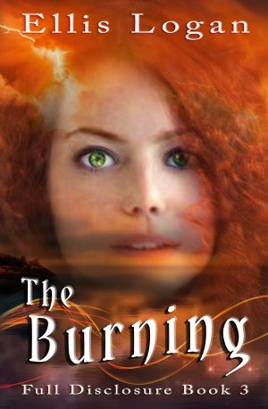 Cover for The Burning — Full Disclosure Book 3