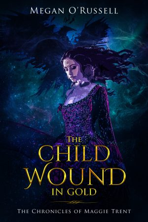 Cover for The Child Wound in Gold