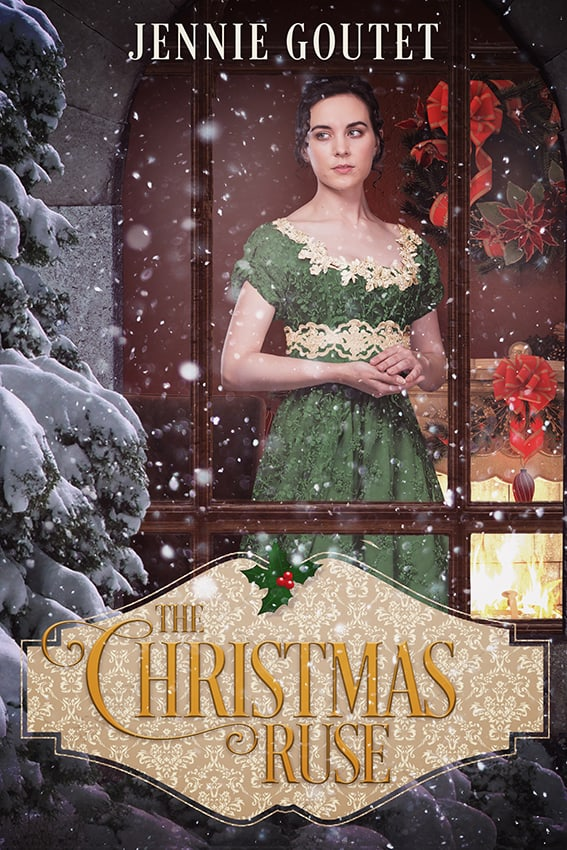 Cover for The Christmas Ruse: a clean & wholesome novella