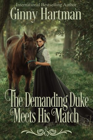 Cover for The Demanding Duke Meets His Match