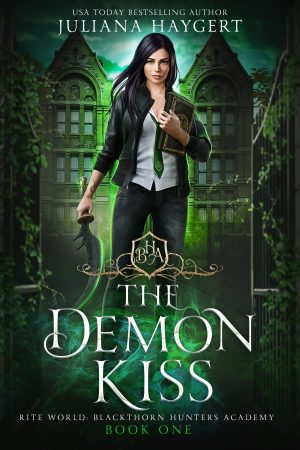 Cover for The Demon Kiss