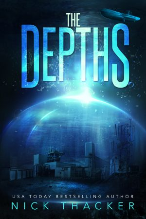 Cover for The Depths