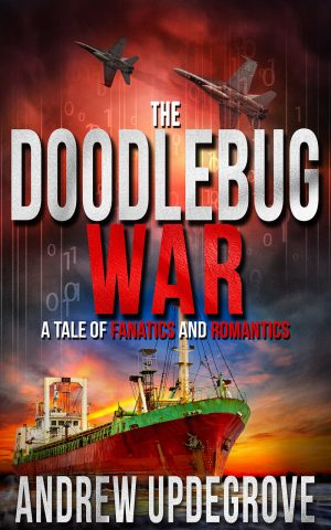 Cover for The Doodlebug War