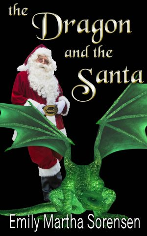 Cover for The Dragon and the Santa