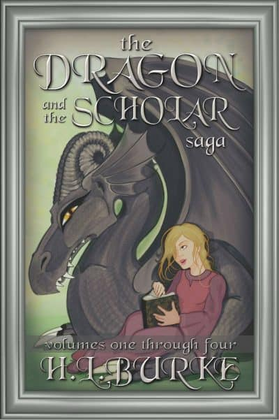 Cover for The Dragon and the Scholar Boxset