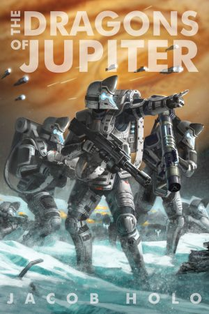 Cover for The Dragons of Jupiter