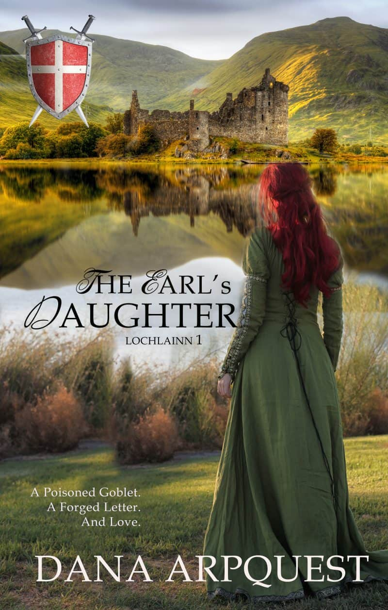 Cover for The Earl's Daughter: Medieval Romance