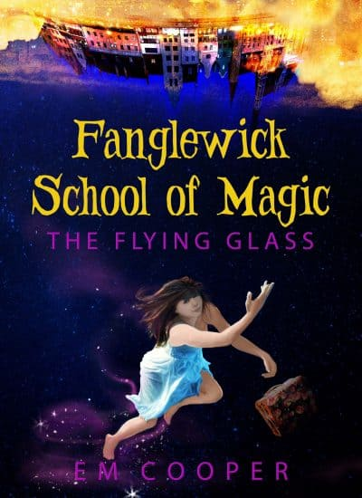 Cover for The Flying Glass
