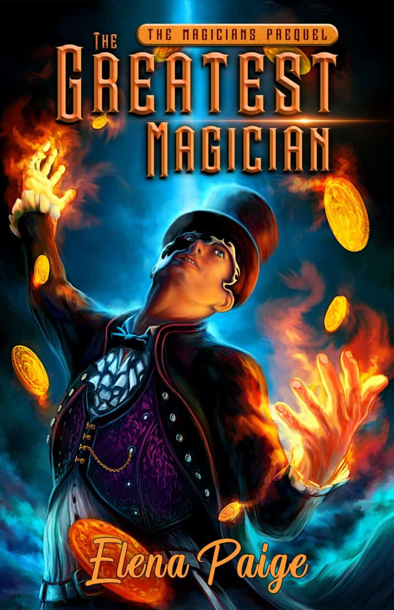 Cover for The Greatest Magician: The Prequel