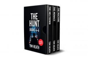 Cover for The Hunt series Books 4-6 Boxset