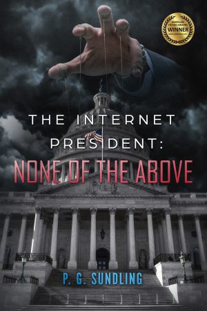 Cover for The Internet President